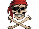 Drawing Skull and Crossbones Pirate Skull and Crossbones Also Known as Jolly Roger Wearing A