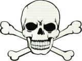 Drawing Skull and Crossbones Skull and Crossbones Machine Embroidery and Applique Pinterest