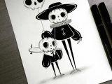 Drawing Skull Eyes Instagram Photo by Behemot Behemot Crta Stvari Halloween