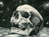 Drawing Skull Hd Wallpaper Skull Wallpaper by Wallpaperscraft Com Macabre Artwork Pinterest