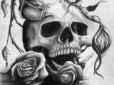 Drawing Skulls with Roses 40 Best Skulls and Roses Images Skull Art Skull Tattoos Skulls