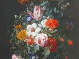 Drawing Still Life Flowers Artwork by Frederick Victor Bailey Still Life Of Flowers In A Vase