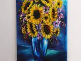 Drawing Still Life Flowers Christmas Sale Sunflowers Painting Yellow Flowers Art Still Life