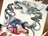 Drawing Tumblr Wolf Wolf Watercolor Tattoo Tumblr Tattoo Pinterest Sketchbooks