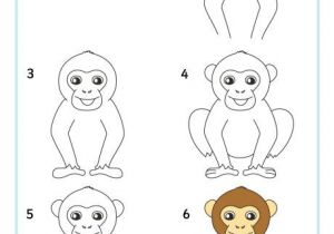 Drawing U.n.o Magra Per Disegnare Uno Scimpanze Haileys Drawings Drawings