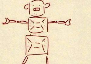 Drawing U.n.o Repost Pertrechos1840 Get Repost El Pequea O Robot De Mi Hijo