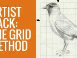 Drawing Using A Grid Artist Hack the Grid Method Branca Flor Art by Alexandra