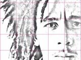 Drawing Using A Grid How to Draw A Bob Marley Portrait Using A Grid Art 1 Drawings