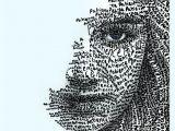 Drawing Using Words Jiliallen New Word Art X Patience X Nice I Love the Meditation
