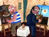 Drawing Vs Painting Picasso Vs Dali Painting An Egg Arte Dali Paintings Art Und Dali