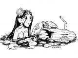 Drawing Warm Up Ideas Lunch Drawing A Swamp Girl Artistsoninstagram Art Instaart