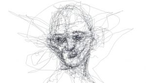 Drawing with Eye Tracking I Draw Portraits Using Only My Eyes Internet Reads Drawings
