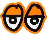 Drawing with orange Eyes Logo Krooked Eyes orange Sticker Gotta Have Pinterest Skateboard