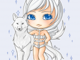 Drawing Wolf Chibi White Wolf Chibi by Snowpod On Deviantart