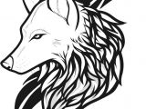 Drawing Wolf Line Art Draw Wolf Tattoo Drawing and Coloring for Kids Tattoos Wolf