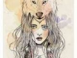 Drawing Wolf Tumblr Resultado De Imagem Para Desenhos Tumblr Garotas Lobo Tattoos