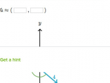 Drawing X and Y Components Of Vectors Vector Components From Magnitude Direction Practice Khan Academy