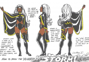 Drawing X-men Characters Dave Cockrum S X Men Model Sheets Dave Cockrum X Men Comics