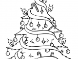 Drawing Xmas Decorations Christmas Tree Pictures to Draw for Adults Merry Christmas