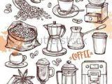Drawings Easy Coffee Painted Coffee Beans Coffee Beans Coffee Sketch Of Coffee Beans
