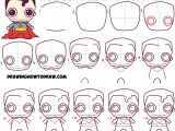 Drawings Easy Neon How to Draw Cute Chibi Superman From Dc Comics In Easy Step by Step
