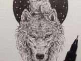Drawings Of A Wolf Tattoo Amazing Owl and Wolf Pic by Kerby Rosanes May Have to Get This as