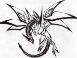 Drawings Of Beautiful Dragons Red Eyes Darkness Dragon Tribal by Aglinskas On Deviantart Tattoo