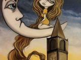Drawings Of Big Eyes Moonlighting A Rapunzel Inspired Painting Big Eye Art by Lizzy