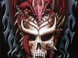 Drawings Of Dragons and Skulls Cool as Hell He May Be In Hell Dragon Hell M W Photography