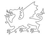Drawings Of Dragons Clipart Pin by Muse Printables On Printable Patterns at Patternuniverse Com