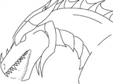 Drawings Of Dragons Faces Image Result for Dragon Head Template Ala Stugo Dragon Head