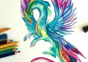 Drawings Of Dragons In Color Pin by Emily Clark On Art Arte Arte Lapiz Arte Fantasa A