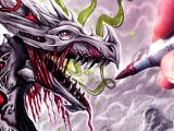 Drawings Of Dragons with Skulls Let S Draw A Zombie Dragon Fantasy Art Friday Love This Art