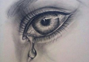 Drawings Of Eyes In Crying Eye Drawing Zeichnena A Draw Pencil Drawings Und Sketches