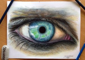 Drawings Of Eyes In Eye Color Pencil Drawing by atomiccircus On Deviantart In Your
