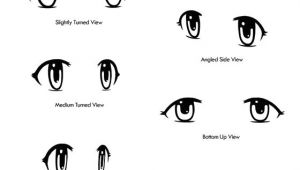 Drawings Of Eyes Looking Down How to Draw Anime Dr Odd Drawing Notes Drawings Anime Eyes