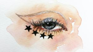 Drawings Of Eyes with Makeup the 100 Day Project 41 100 100 Days Of Eye Drawing by