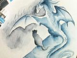 Drawings Of Fantasy Dragons Rainy Days Zoom by Alviaalcedo Traditional Art Drawings