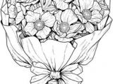 Drawings Of Flower Bouquets 368 Best Flower Line Drawings Images Lotus Tattoo Tattoo