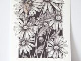 Drawings Of Flowers and Bees Bumble Bee Print Bee Drawing Bumble Bee Print Pointillism Drawing