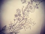 Drawings Of Flowers and Bees Doodle Day D Tattoo Tattoodesign Drawing Doodle Wildflower