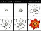Drawings Of Flowers Easy Step by Step How to Draw A Flower Dr Odd