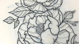 Drawings Of Flowers for Tattoos A Tattoo Pinte