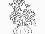 Drawings Of Flowers Pot Flower Pot Drawing Design Wajiflower Co