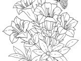 Drawings Of Flowers to Print Download and Print Realistic Flowers Coloring Pages for the top
