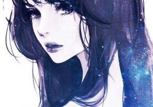 Drawings Of Galaxy Eyes Imagen De Girl Anime and Art Leo Drawings Art Anime