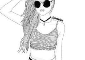 Drawings Of Girls Tumblr 65 Best Drawings Black White Images Girl Drawings Tumblr