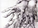 Drawings Of Hands and Fingers Hands by Olda Ich Kulhanek Hands Fingers Mani Main Carefully