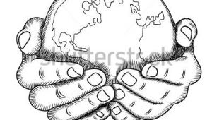Drawings Of Hands Holding Earth Hands Holding Earth Drawing Sketch Coloring Page Tats In 2019