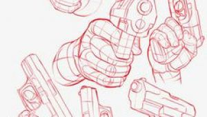 Drawings Of Hands Holding Guns 35 Awesome Gun Pose Reference Images References Drawings